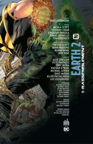 Earth Two 1 Rassemblement TPB hardcover (cartonnée) (Urban Comics) photo 4