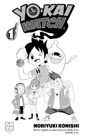 Yo-kai watch 1  Simple (Kazé Manga) photo 2