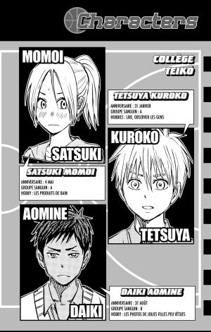 Kuroko's Basket Replace PLUS 1  Simple (Kazé Manga) photo 7