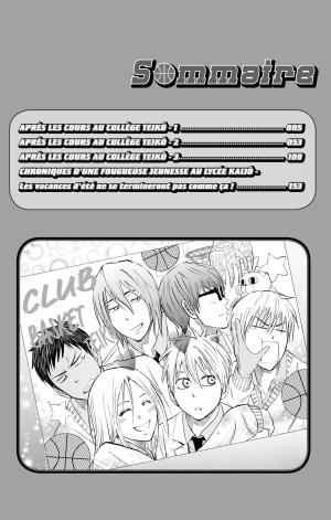 Kuroko's Basket Replace PLUS 1  Simple (Kazé Manga) photo 9