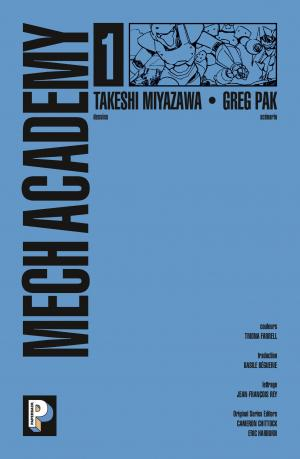 Mech Academy 1  TPB softcover (souple) (casterman bd) photo 2