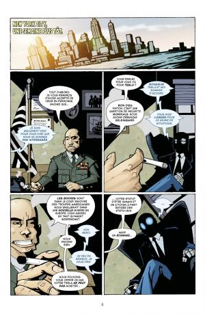 Atomic Robo 1 La science est un combat simple (casterman bd) photo 9