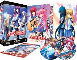 Angel Beats !  Intégrale + OAV - Coffret DVD + Livret Collection GOLD DVD (Black box) photo 1