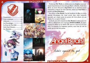 Angel Beats !  Intégrale + OAV - Coffret DVD + Livret Collection GOLD DVD (Black box) photo 2