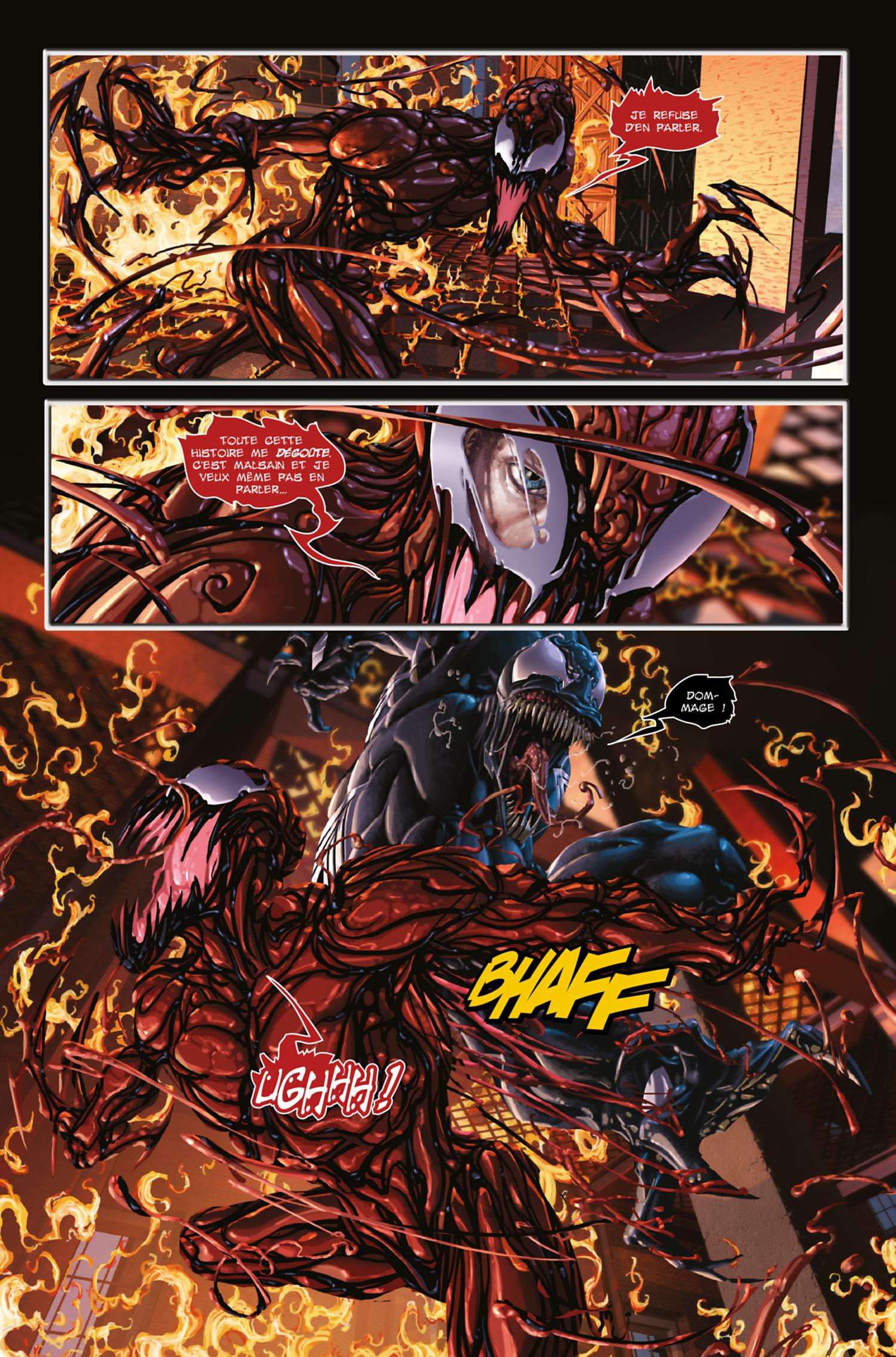 Venom Vs. Carnage TPB Hardcover - Marvel Deluxe (Panini ...